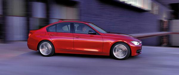 2012 BMW F30 3 series sedan auto show premier at Detroit Auto Show 2012