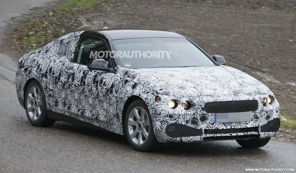 2012 BMW F32 3 Series Coupe Spy pictures