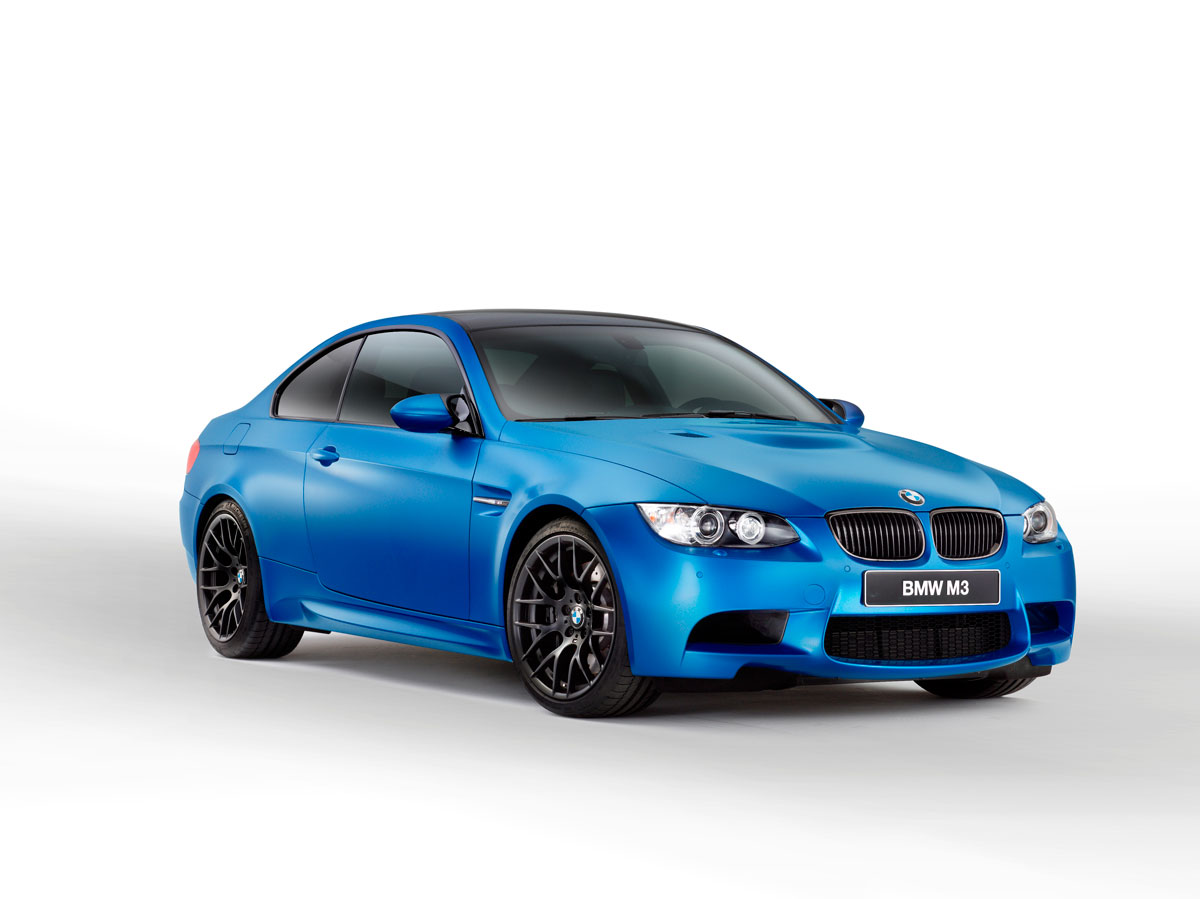 2013 BMW M3 Limited Edition Frozen paint in Blue