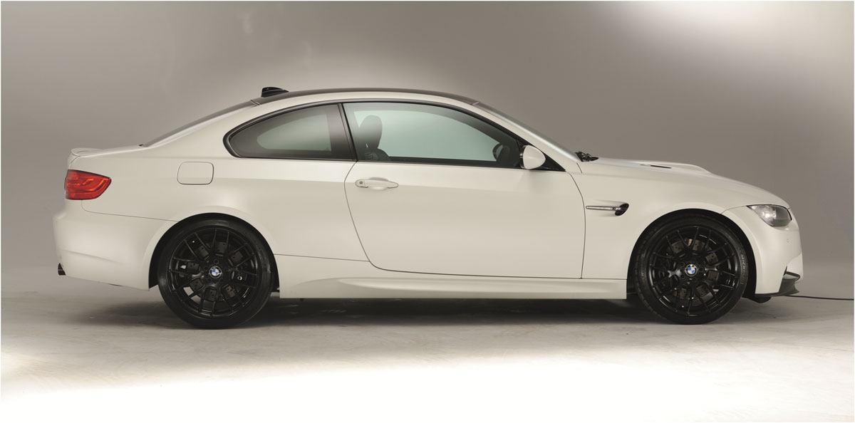 BMW M3 frozen white limited edition