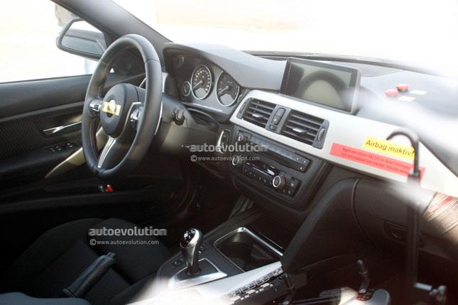 F80 M3 Interior Revealed