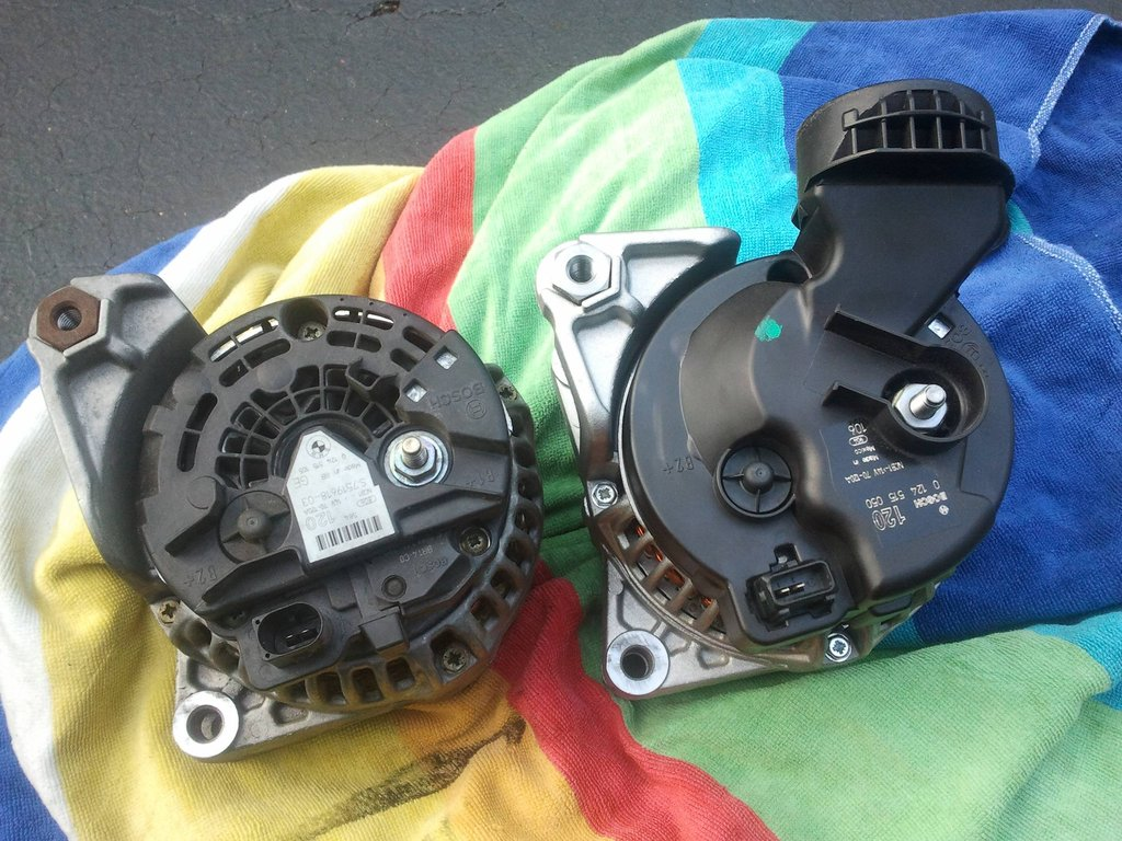 Alternator Nightmare Oval Vs Rectangular Connector Bmw E46 Fanatics Forum