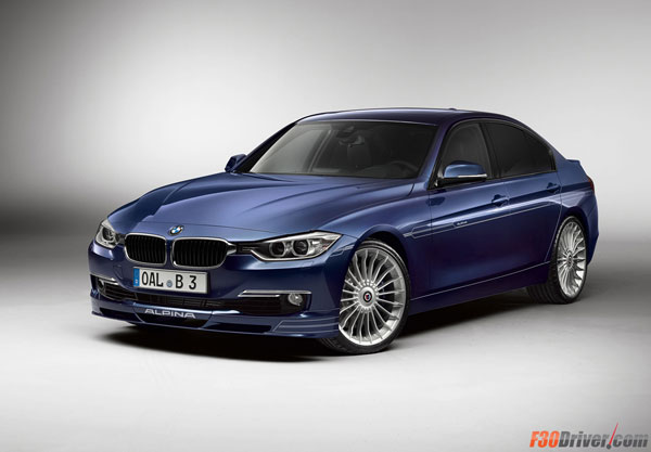 The F30 Alpina B3 Bi-Turbo