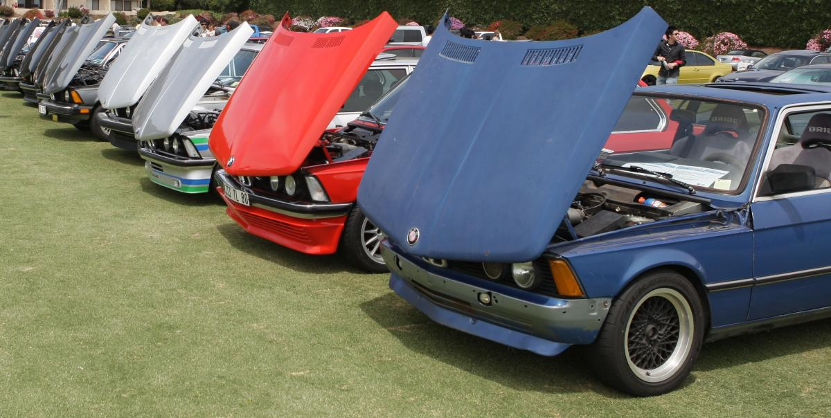 Classic BMWs at Bimmerfest East