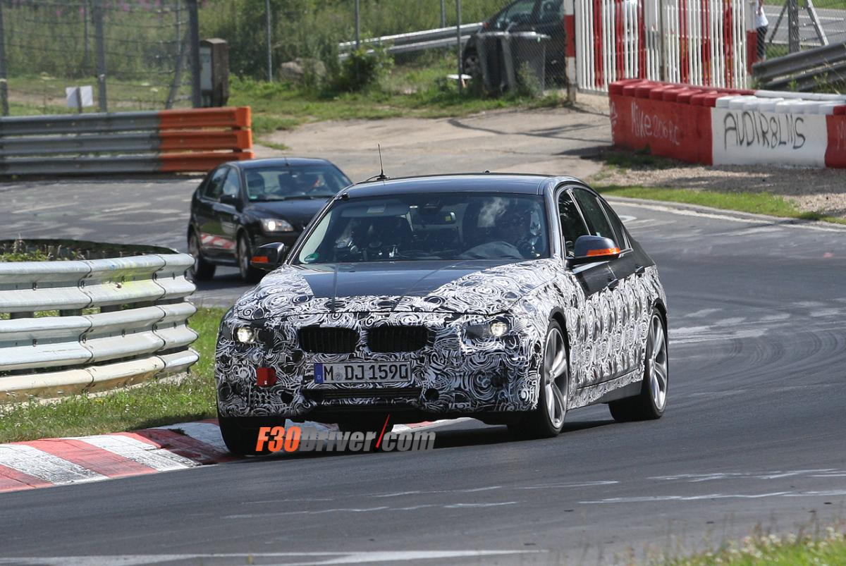 F30 335i spotted on the Nurburgring