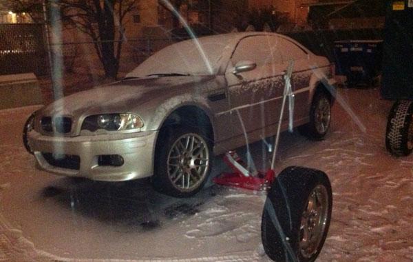 BMW E46 winter tires
