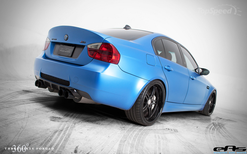 M3 on 360 Forged wheels