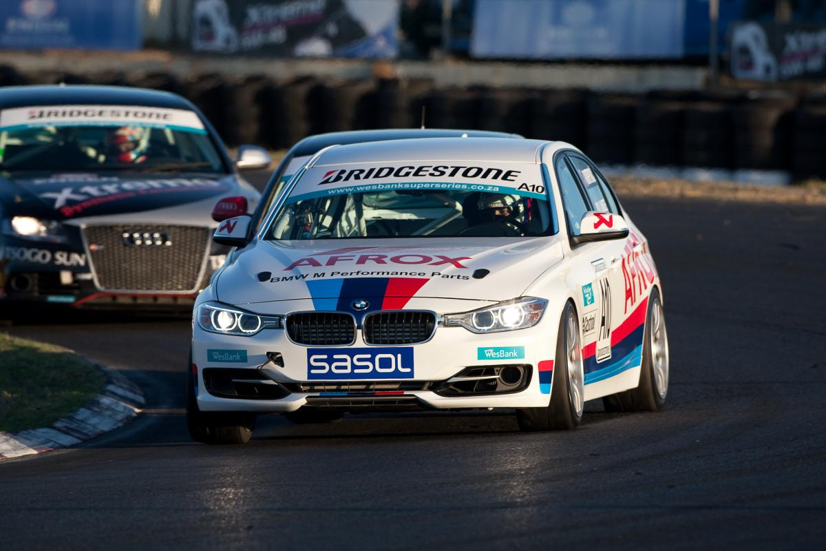 BMW F30 goes racing
