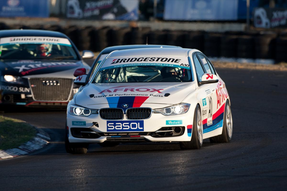 BMW F30 Goes Racing