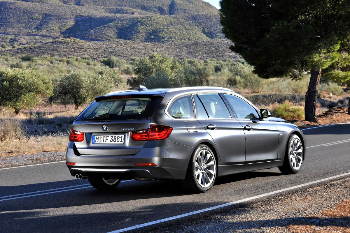 BMW 3 series wagon pictures F31