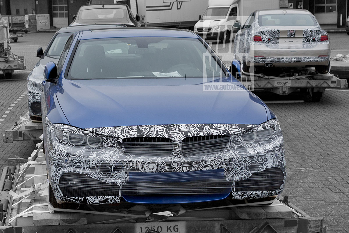 M Sport 4 Series Coupe Spied