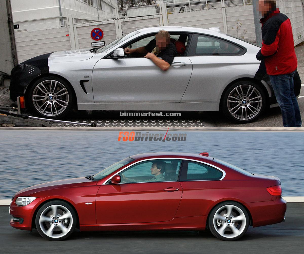 F32 4 series coupe vs E92 3 series coupe
