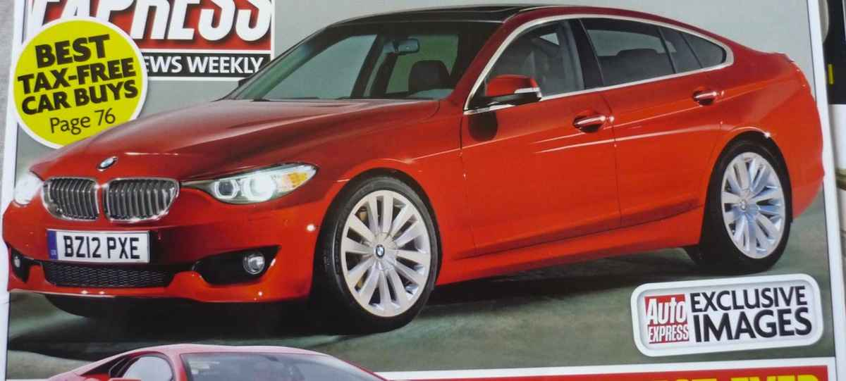 BMW 3 series GT rendering