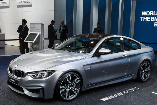 Photoshop rendering of the F82 2014 BMW M4 Coupe