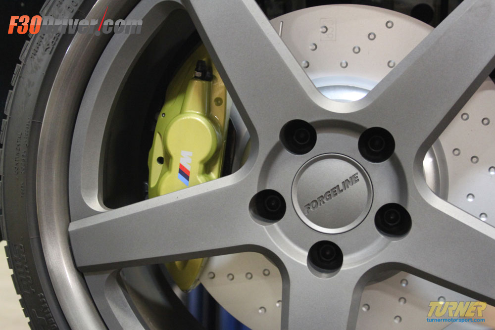 BMW F30 Brake upgrade with M Performance Parts
