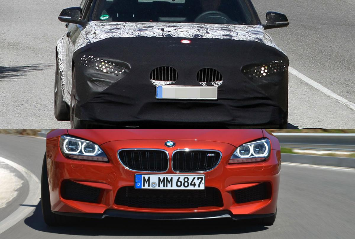 BMW F80 M3 front bumper styled after M6