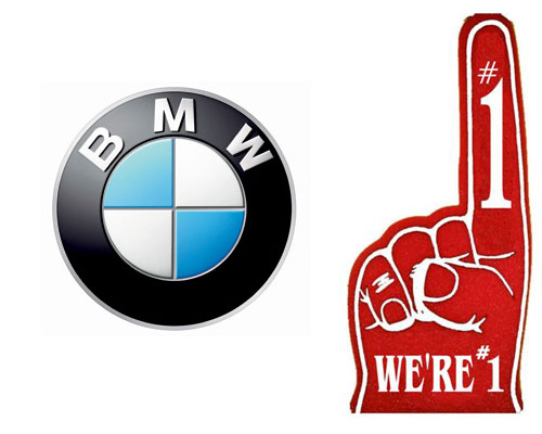 BMW Number 1 Premium Brand in the US for 2011