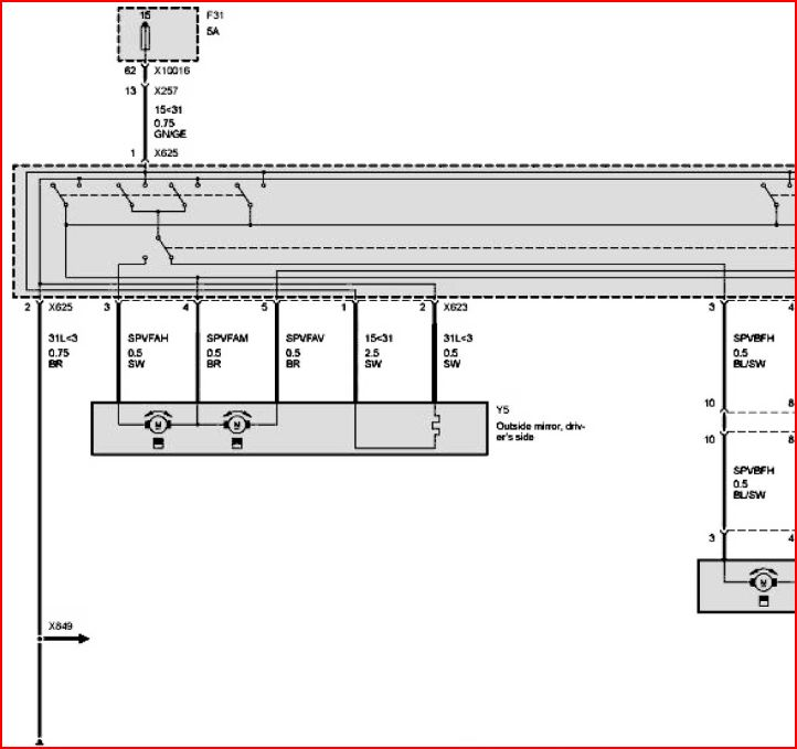 Penger Mirror Wiring Diagram? - E46 2005 and 2000 ... on