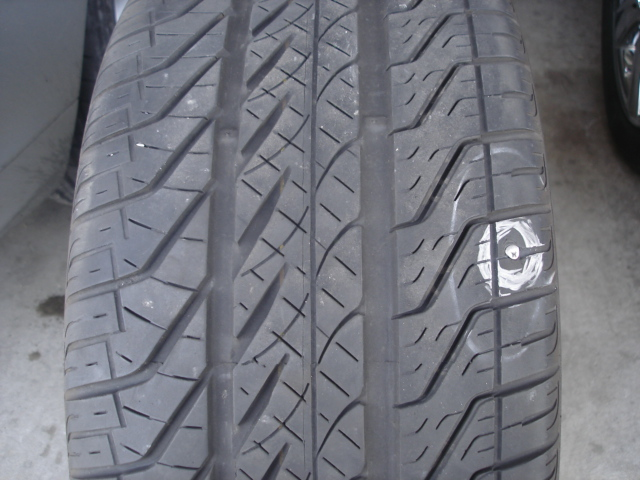 Nail in tire near sidewall (w/pix); repair or nonrepairable ...
