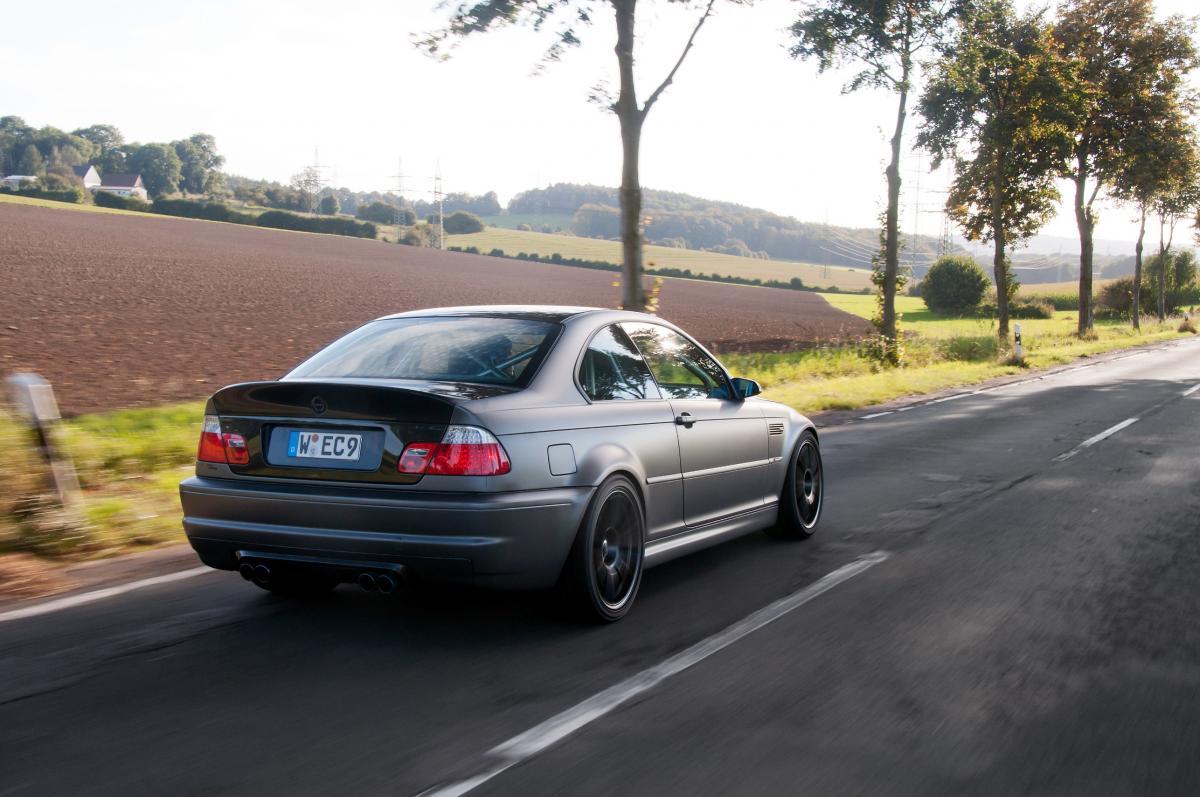 E46 M3 CSL with a V10