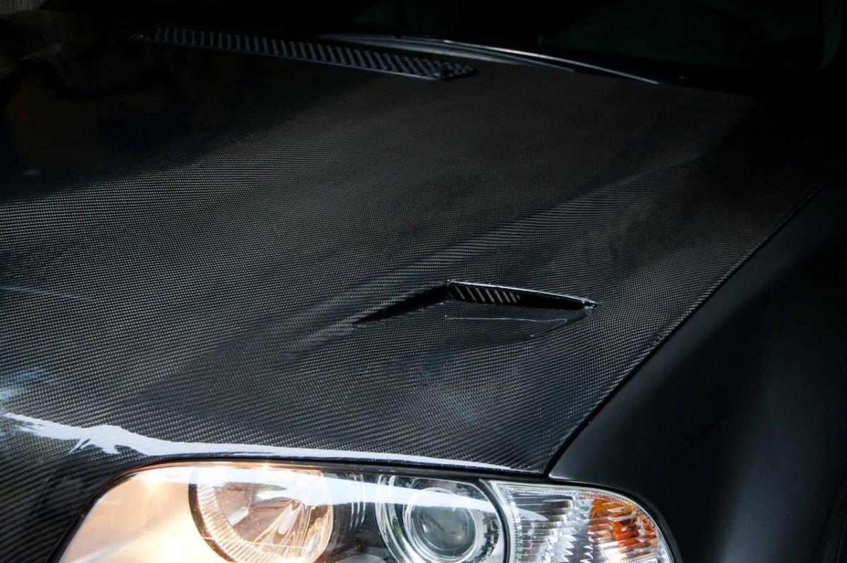 E46 M3 carbon fiber hood