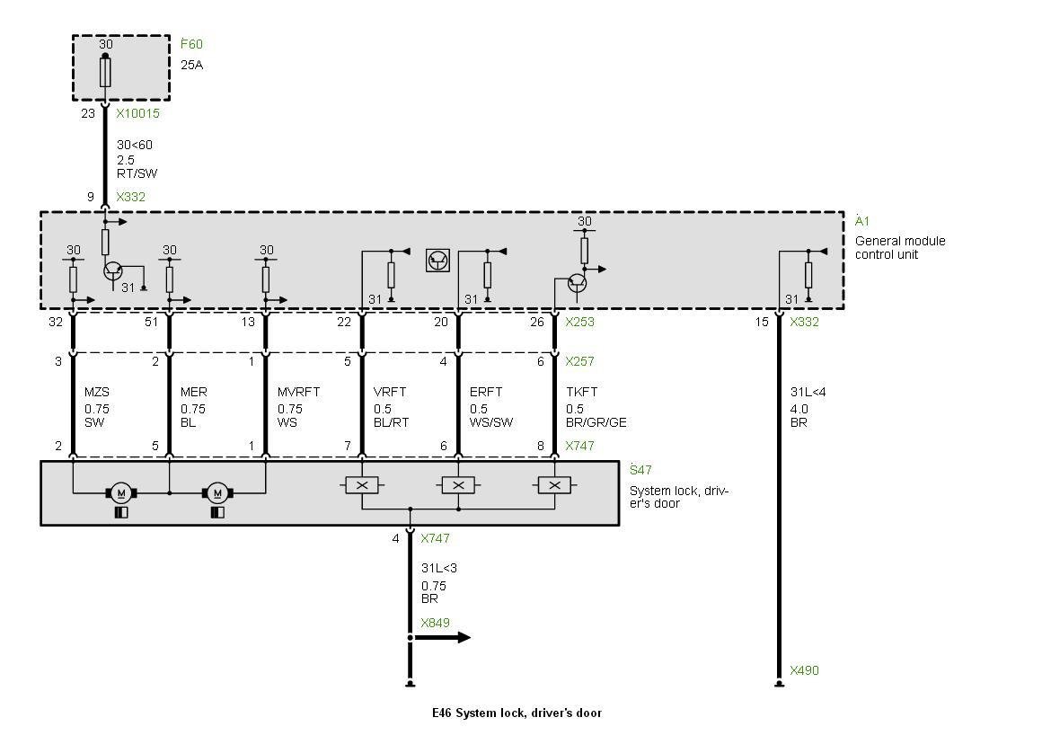 how to manually trigger door lock actuator...see diagram | E46 Fanatics  ForumE46 Fanatics Forum