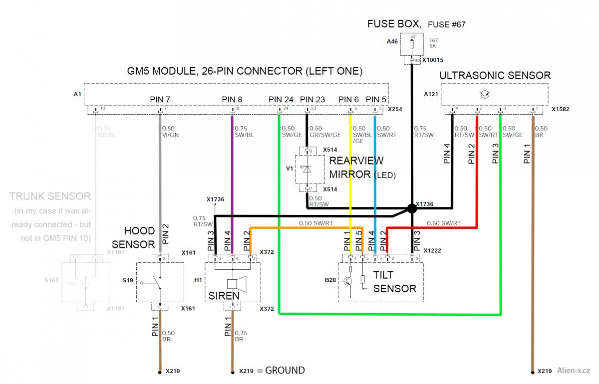 Alarm Wiring Diagram Bmw E46
