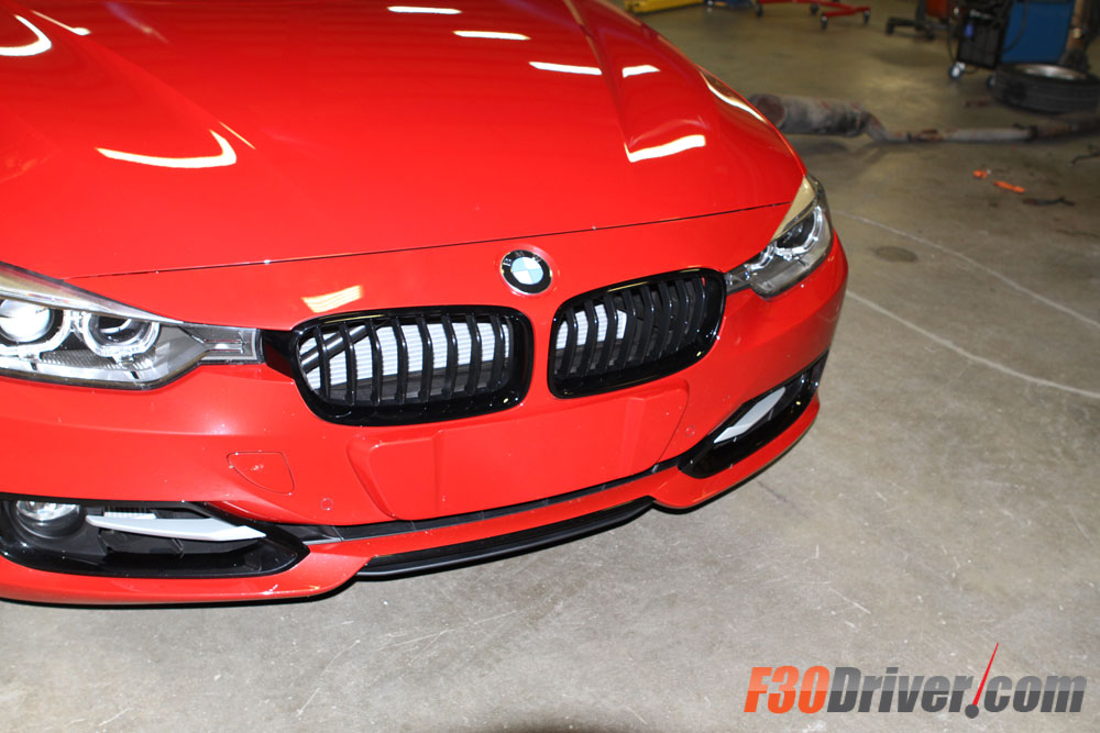 F30 Bmw M Performance Parts Black Out Grill Diy F30driver