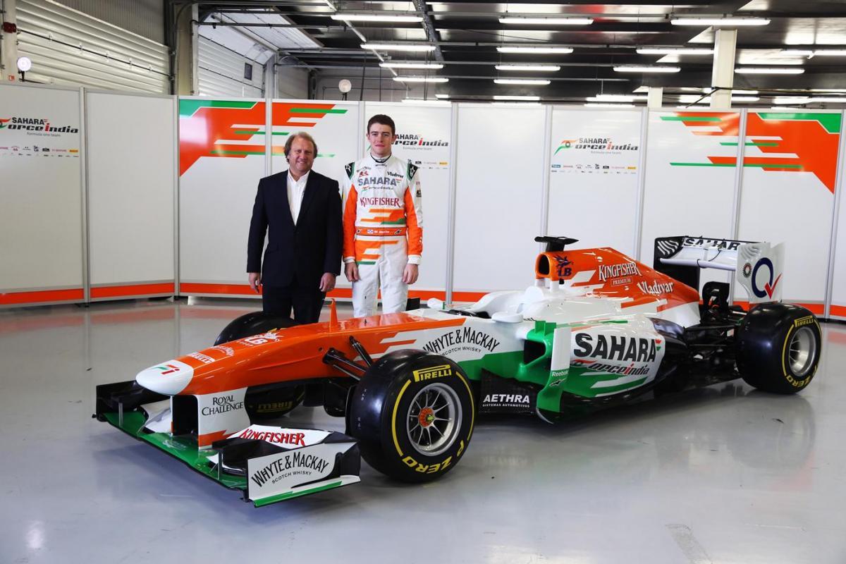 Force India 2013 VJM06 F1 Car
