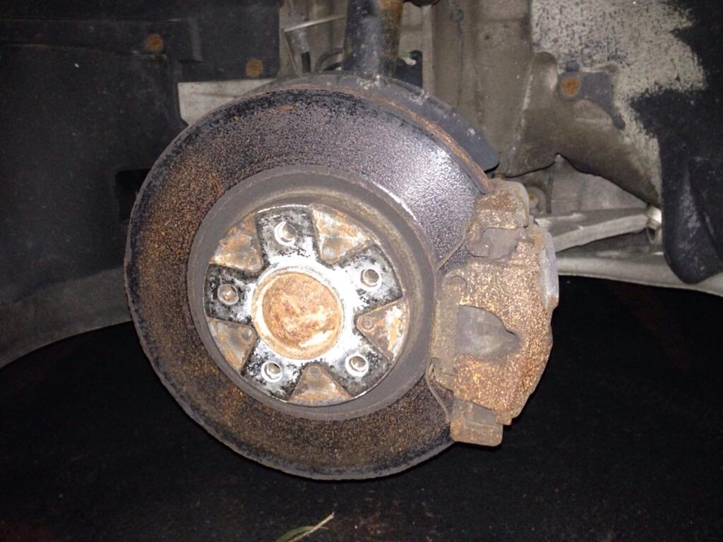 BMW E46 M3 brake replacement