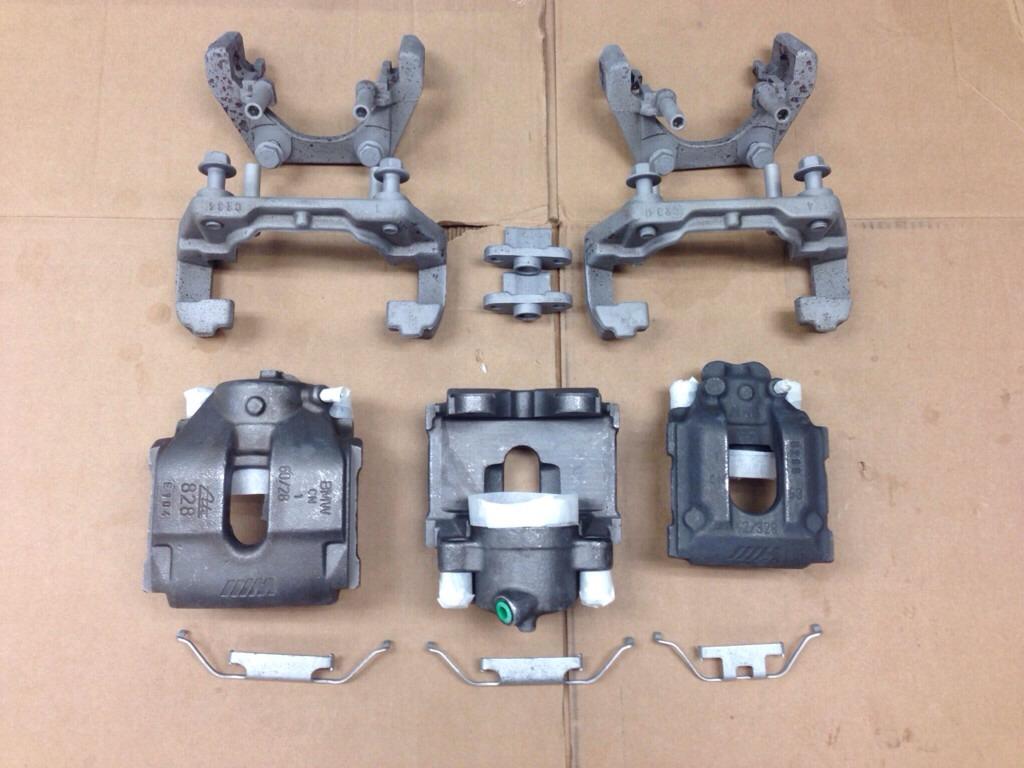 E46 M3 brakes painted