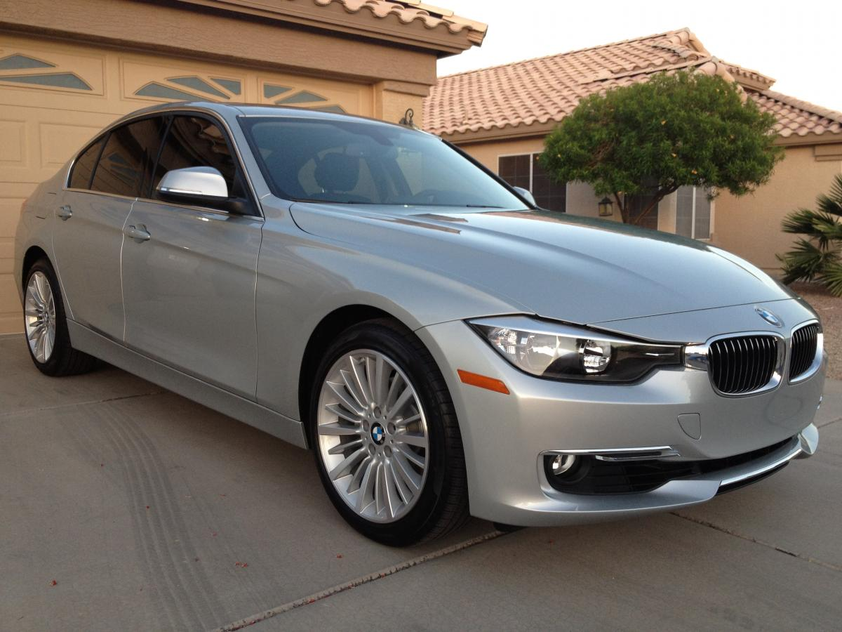 F30 BMW 3 series in Glacier Silver