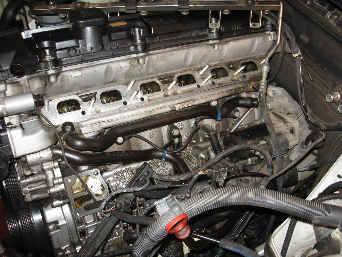 Diy intake removal cooling system oil filter housing oil i went ahead and replaced my heater hoses dmax helped me remember which ones go where if you label the three hoses in the picture a c sciox Choice Image