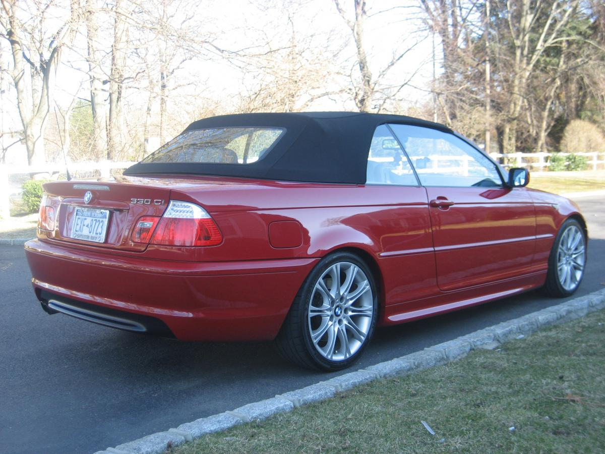 For Sale 2004 BMW 330ci ZHP Imola Red Convertible Sand Leather