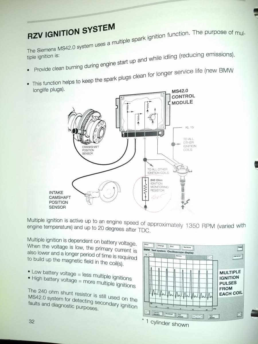 Info on the resistor in the ignition coil harness   E46 Fanatics Forum   Bmw Ignition Control Module Wiring Harness      E46 Fanatics