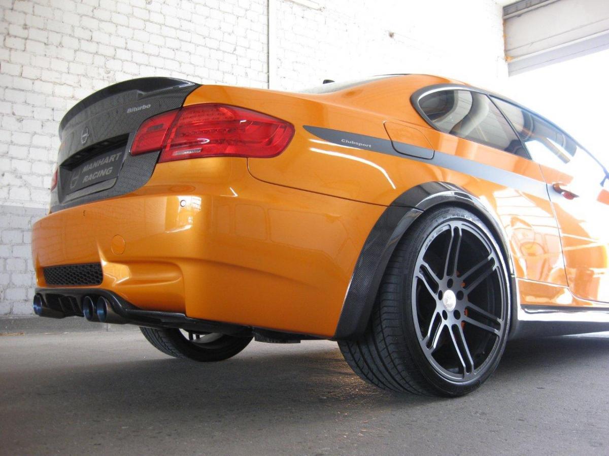 E92 M3 carbon fiber trunk