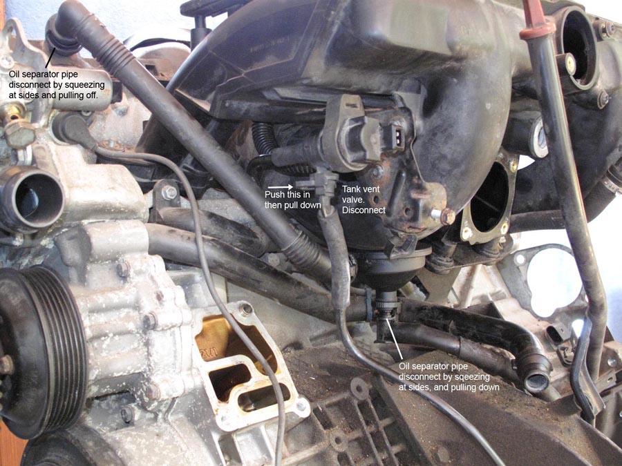 project m54 engine  intake manifold