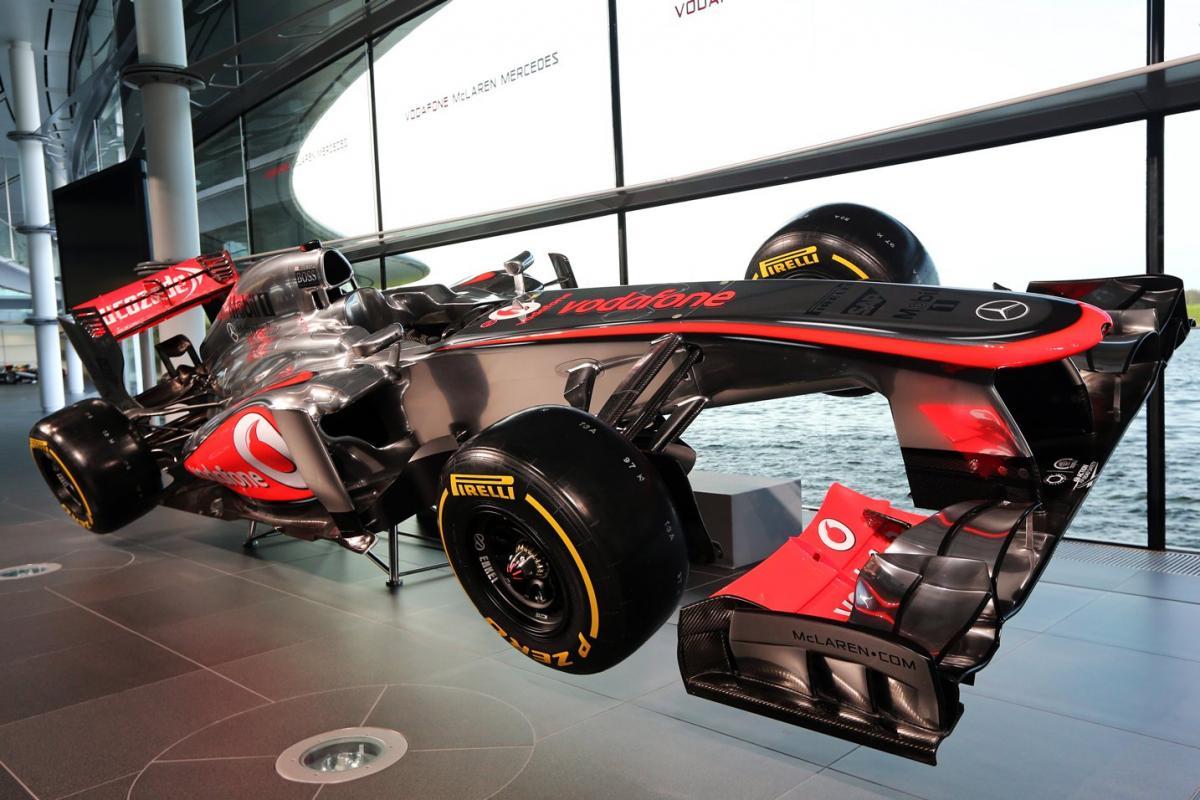 McLaren 2013 MP4-28 F1 Car