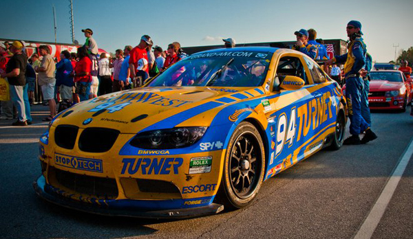 Turner Motorsports BMW E92 M3 Race car Grand AM