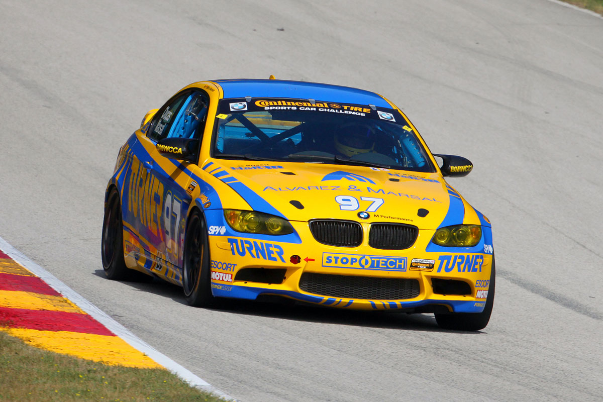 Victories for BMW in Daytona Prototype, GT and Street Tuner Class in Grand Am Racing 2012