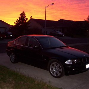 E46 at sunrise part two