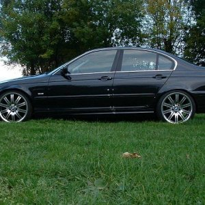 e46 with original m3 wheels