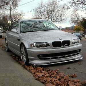 My E46 Coupe-Front 2