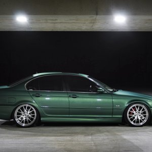 Green is my favorite color, so this BMW I love.
