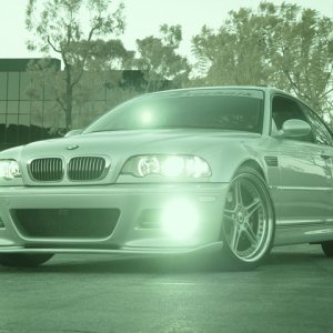 Hugh's 2002 M3 - Black & White