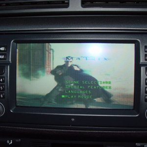 Hugh's 2002 M3 - GPS TV Screen