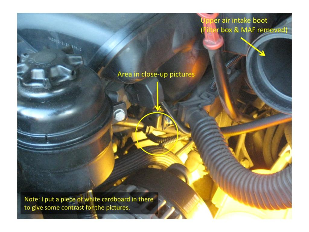 P1188 P1189 Etc Codes Fixed Easily 1 Oil Separator Hose Pics Bmw Fault Code Chart Pic General Area Of Lower Location